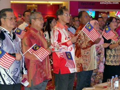 1. sing the Malaysia Day song