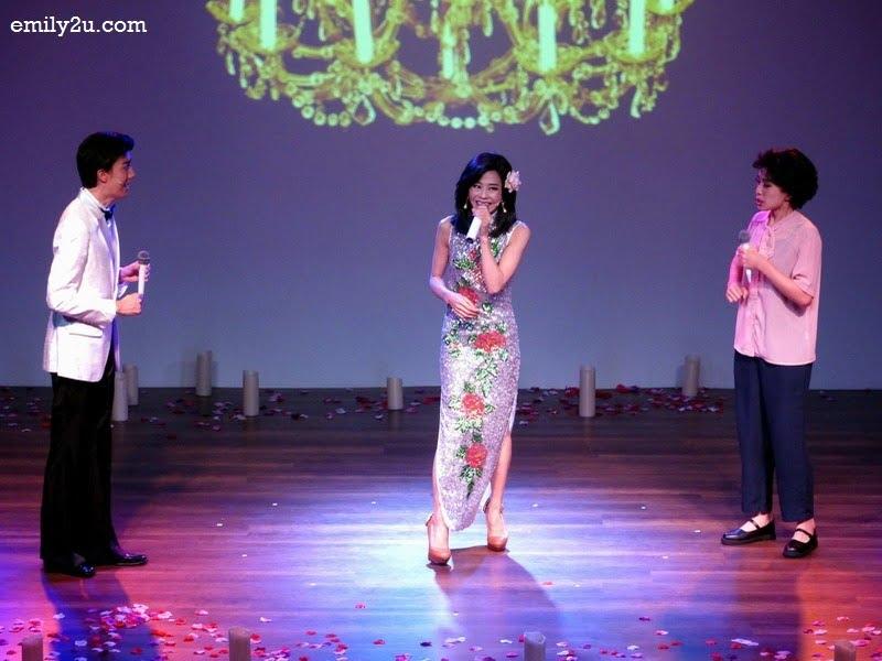 1. Perry Chiu Woon (m) as Teresa Teng