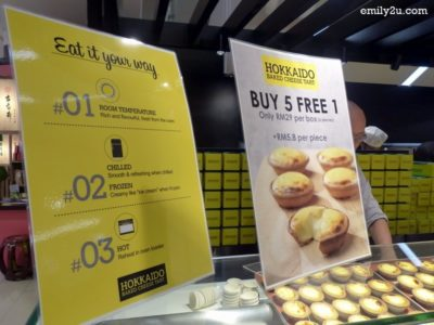 11. ways to eat Hokkaido baked cheese tarts + promotion