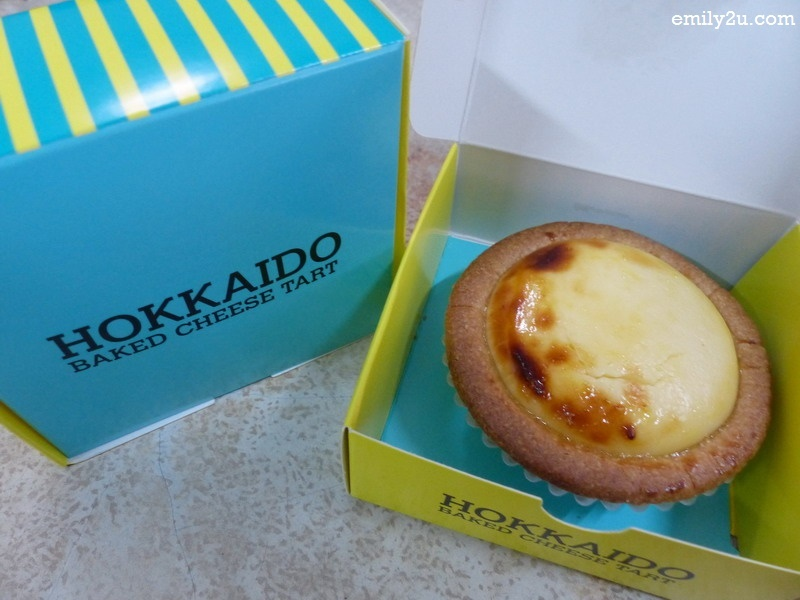 Hokkaido Baked Cheese Tart Now In Ipoh From Emily To You