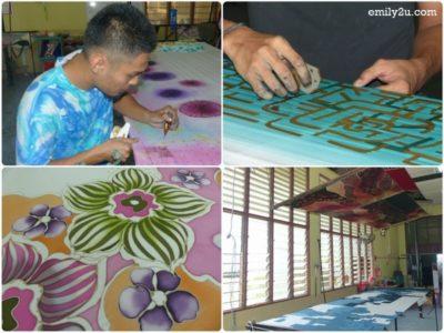 15. Malaysian batik