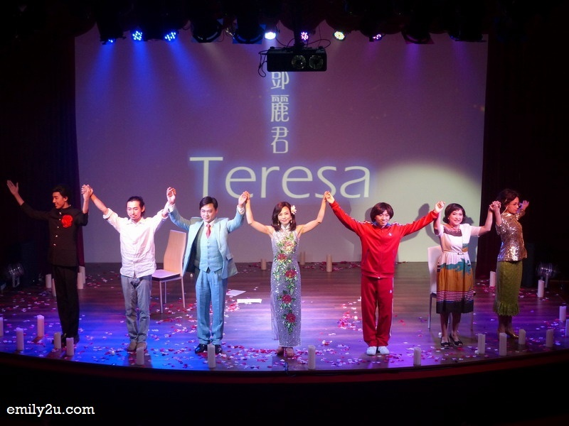 16. the cast of Teresa: The Musical
