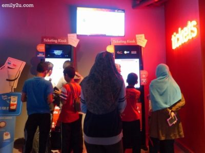 6. ticket kiosks