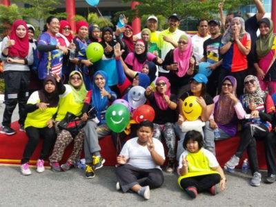 4. some of the participants at Ipoh Car-Free Day