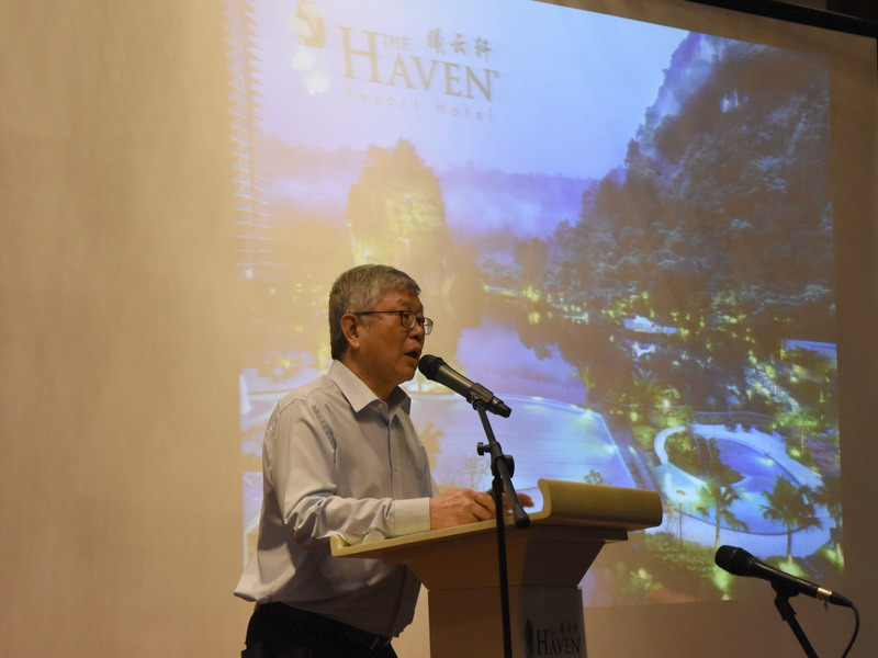 4. Chief Executive Officer of The Haven Mr. Peter Chan