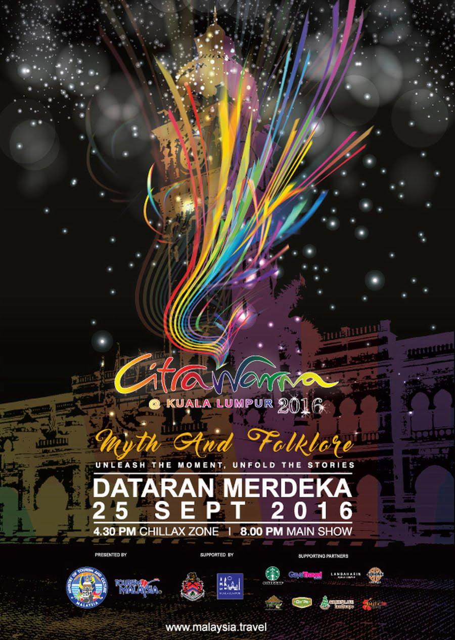 6. poster for Citrawarna@Kuala Lumpur 2016
