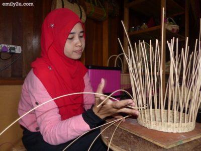 7. rattan weaver Zuraimah bt. Mat Yasin