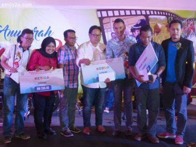 8. top five winners of the karaoke competition