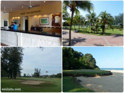 17. golf course