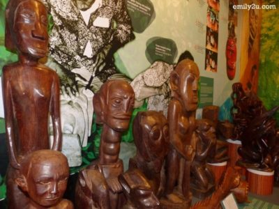 8. wood-carved figurines