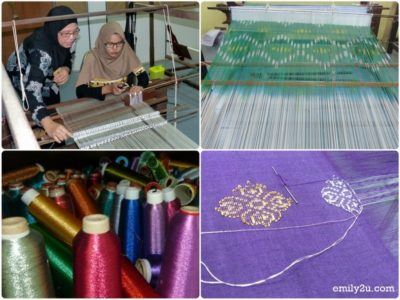9. textile and embroidery class