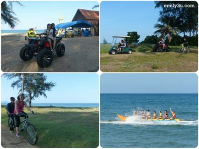 7. exhilarating activities from ATV to banana boat ride