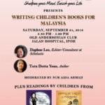 Announcement: Sharpened Word - Writing Children's Books For Malaysia (Sept 24)