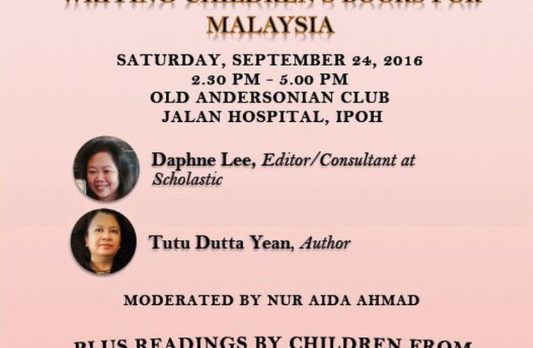 Announcement: Sharpened Word – Writing Children's Books For Malaysia (Sept 24)