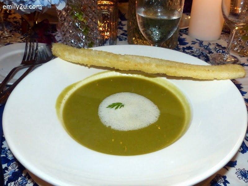 11. soup - Petits Pois Soup