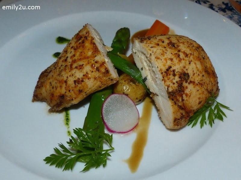 12. main course - Chargrilled Pechuga Pollo