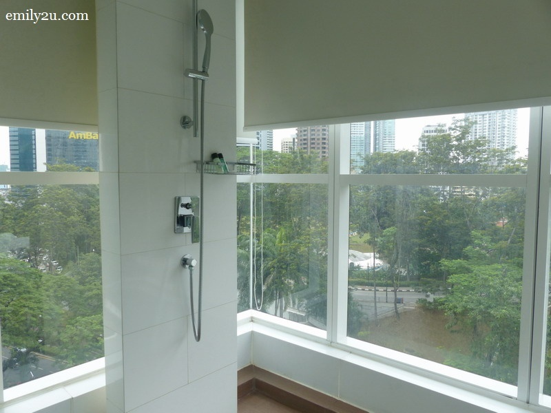 13. shower with glass walls