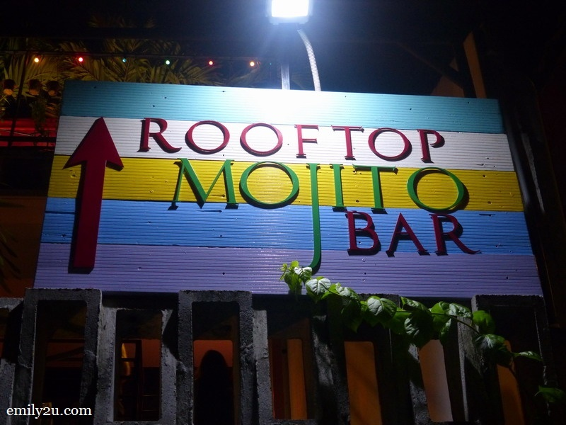 2. rooftop mojito bar