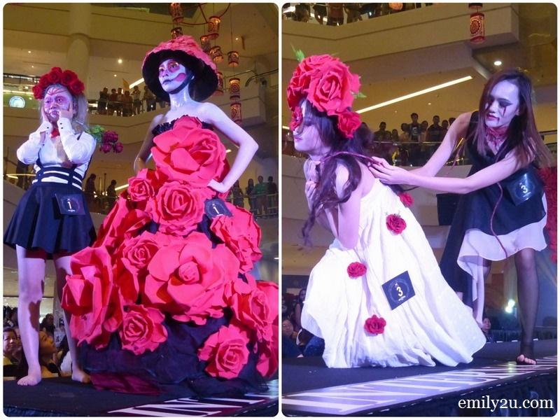 2. Flower Demon (L) & Flower of Ghost (R)