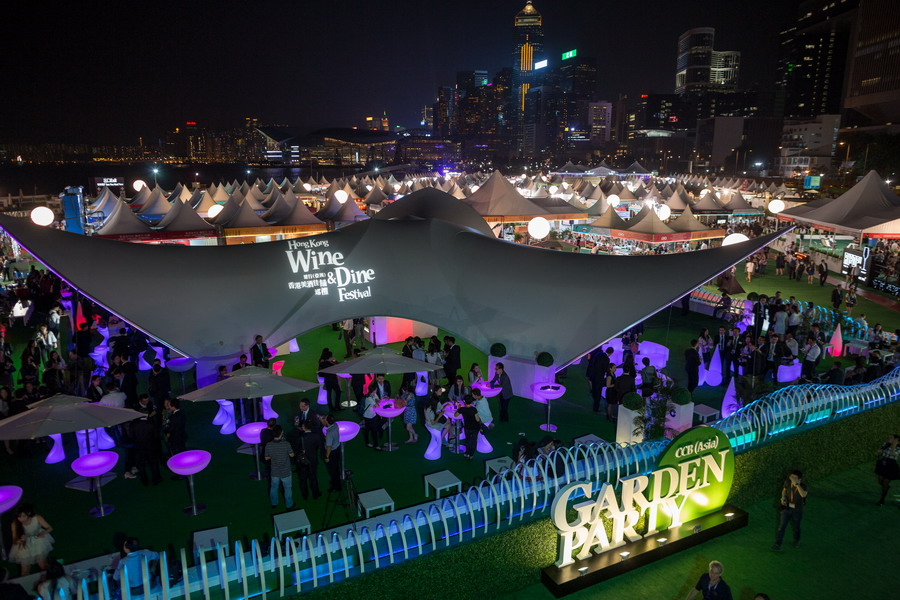 3. the 7th annual CCB (Asia) Wine & Dine Festival in Hong Kong (Oct 2015)