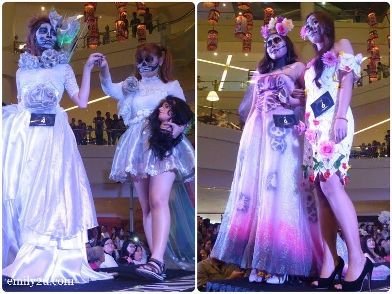 3. Blossom Messenger (L) & Fright Fest Brides (R)