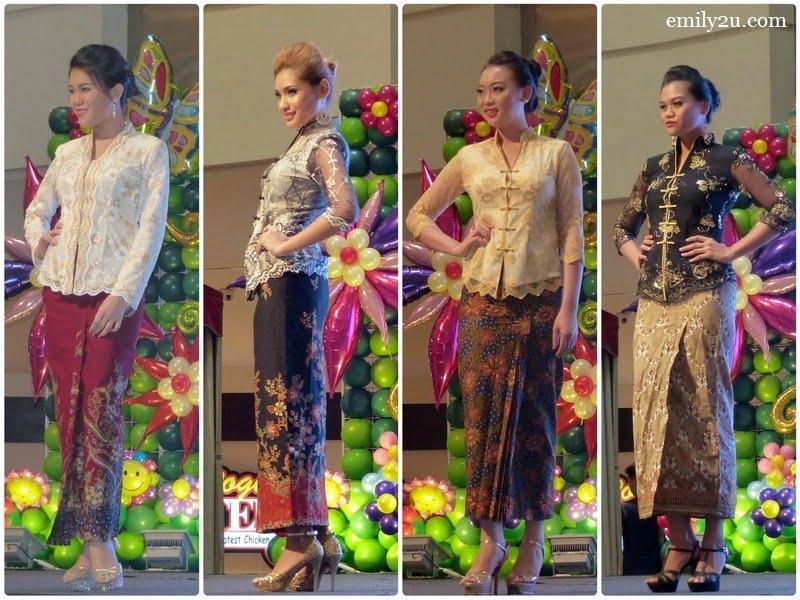 5. L-R: Chin Jie Yi, Nurul Ain, Nicole Fe Lynne & Rose Hanafiah