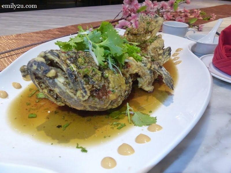 5. Siamese-style crispy sea grouper