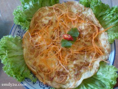 6. omelette