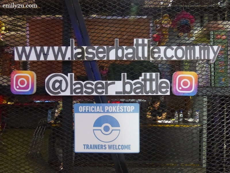 8. Laser Battle on the internet