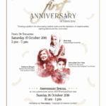 Announcement: Sharpened Word 1st Anniversary (Oct 2016)