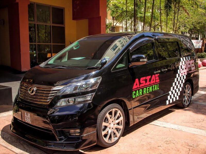 1. Asia Car Rental