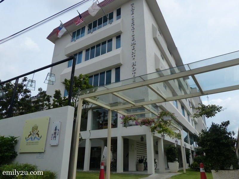1. The Settlement Hotel, Melaka