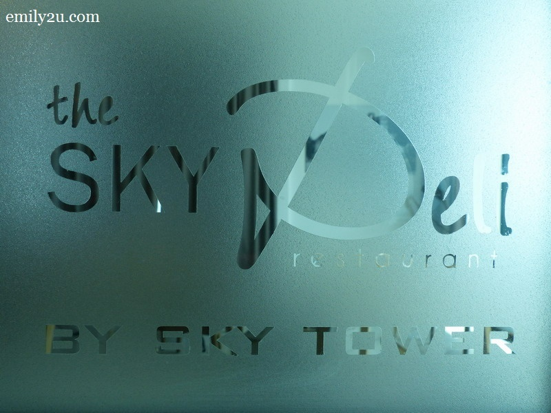 1. The Sky Deli Restaurant, The Shore Sky Tower, Melaka