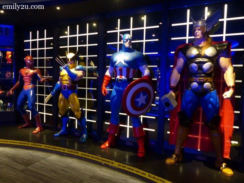 10. superheroes