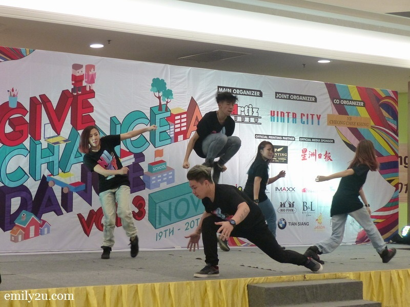 11. D'Artiz Studio dance coaches put up an energetic performance