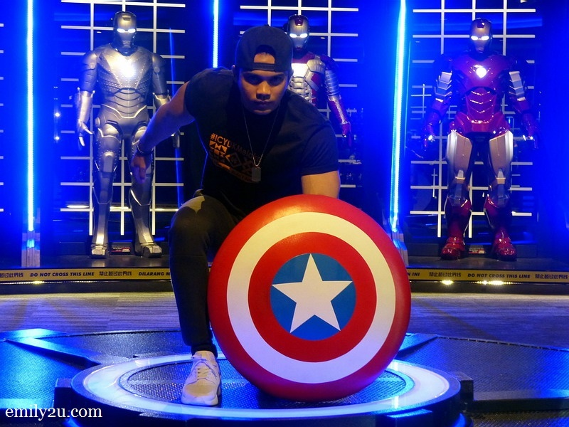 11. Captain America comes alive in the form of Fauzi Mohamad