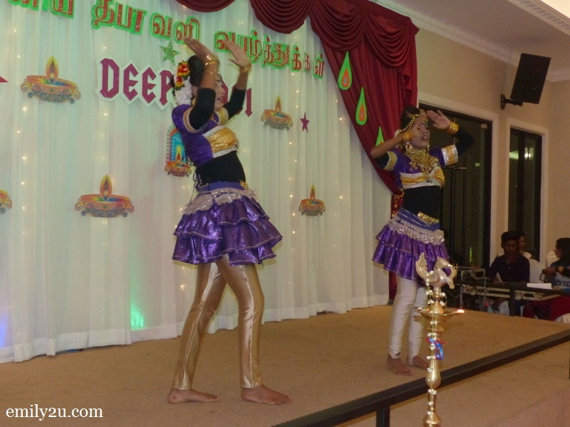 12. Indian dance performance