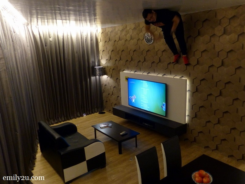 12. the upside down living room