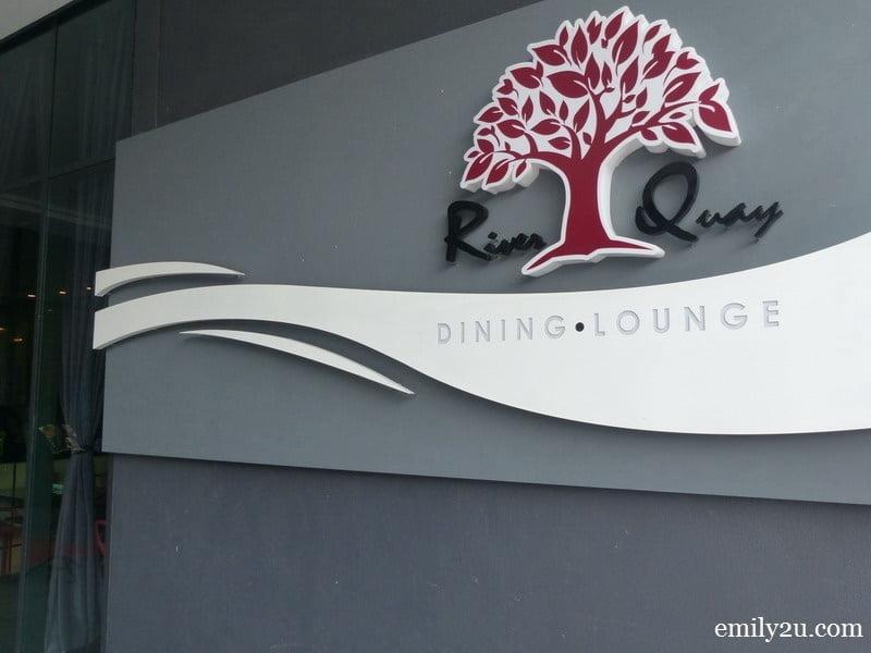 12. The Shore River Quay Dining & Lounge, Melaka