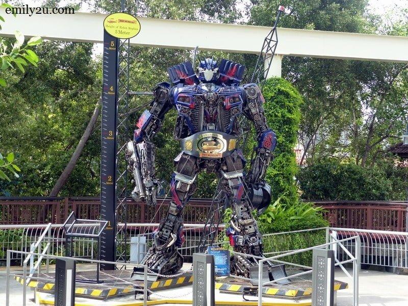 13. 5-metre tall Transformer