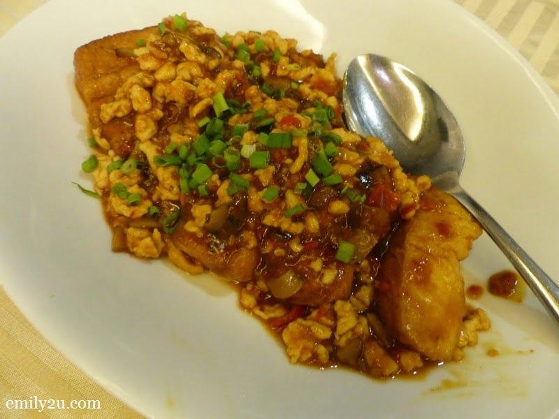 2. Bean Curd with Szechuan Sauce