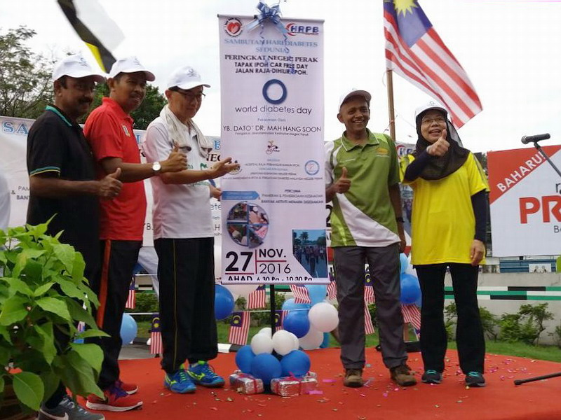 1. launch of World Diabetes Day (Perak)