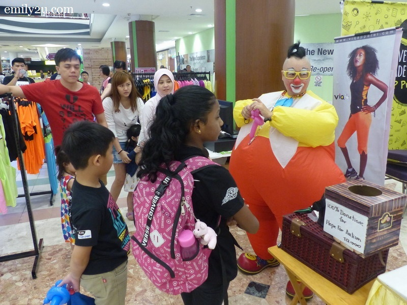 3. the charity effort saw children making cash donations for every balloon they order