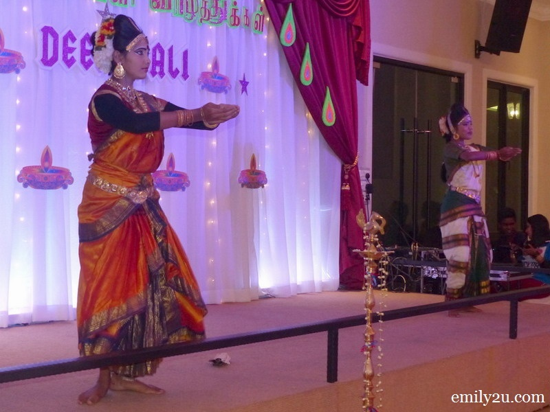 3. classical Indian dance performance