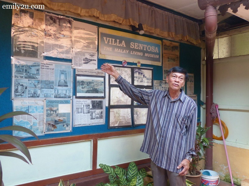 4. one of the owners, 77-year-old retired veterinarian, Tuan Hj. Ibrahim Bin Hj. Hashim