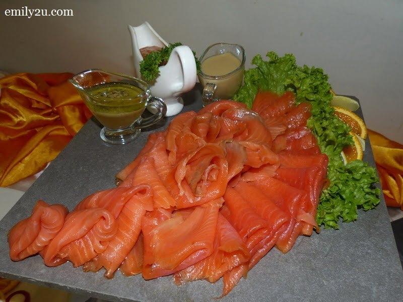 4. fresh salmon
