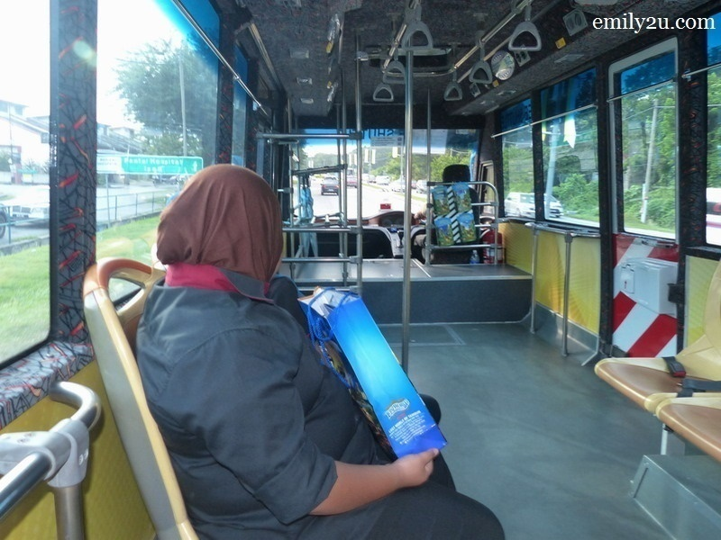 7. and the bus heads to the city centre from Lost World of Tambun