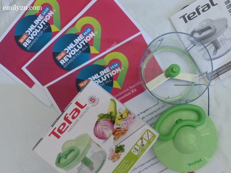 6. Tefal manual chopper