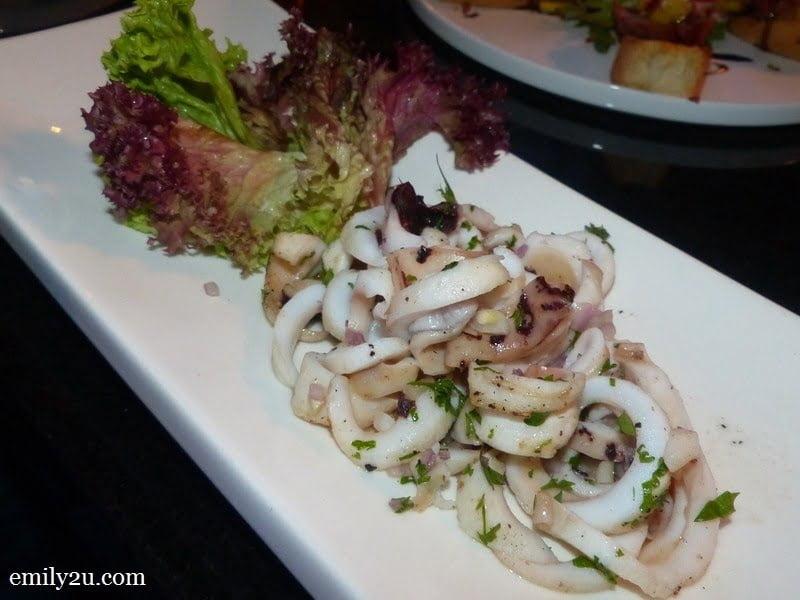 6. Grilled Calamari