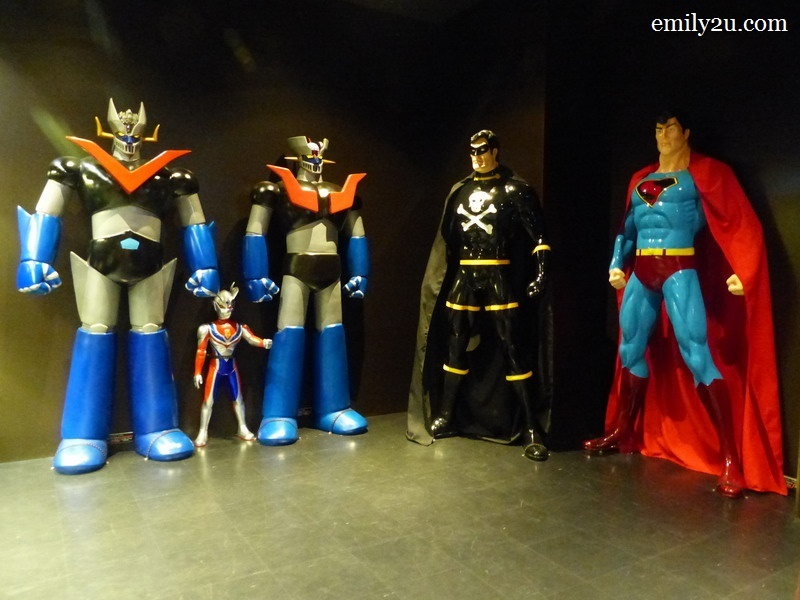 6. life-size figurines